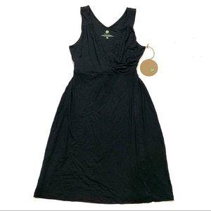 NWT Dakini Black Sleeveless Dress Stretchy Comfy M